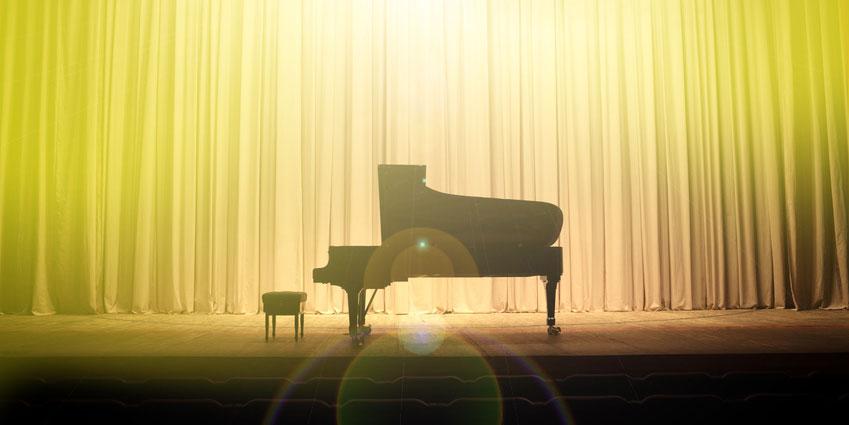 Kleine Konzerte vorspielen Musikschule